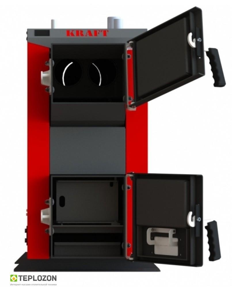 KRAFT A 12 KW твердотопливный котел (без автоматики) - 1