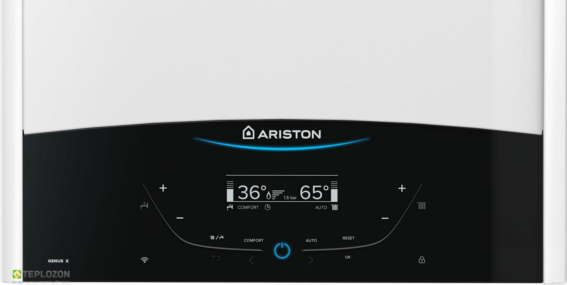 Ariston Genus X 24 CF  настінний газовий котел - 1