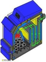 Logica ULTIMA Q PLUS 15 (15-10 kW) твердотопливный котел - 1