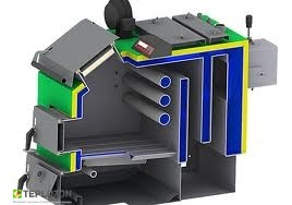 Moderator Unica Sensor 15 KW твердотопливный котел - 1