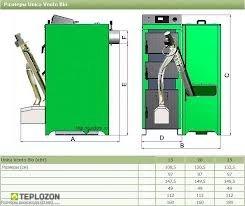Moderator Vento Bio 20 KW пелетний котел - 1