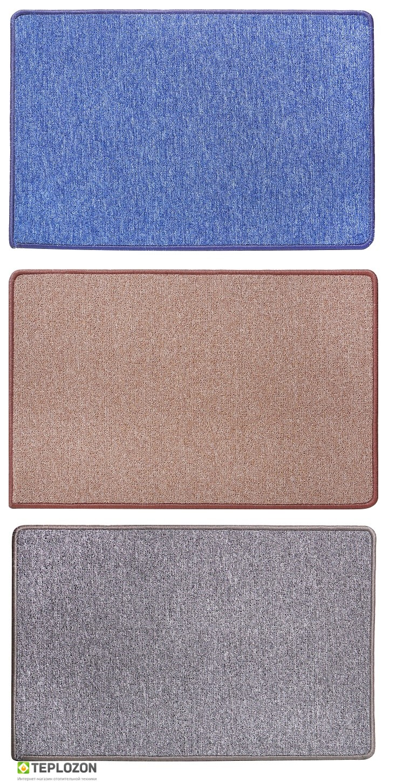 Інфрачервоний килимок з підігрівом Uni color 1030*1630 (з кнопкою вкл/викл) - 1