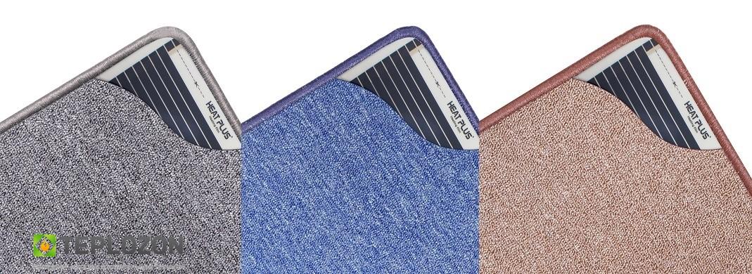 Інфрачервоний килимок з підігрівом Uni color 530*630 (з кнопкою вкл/викл) - 2
