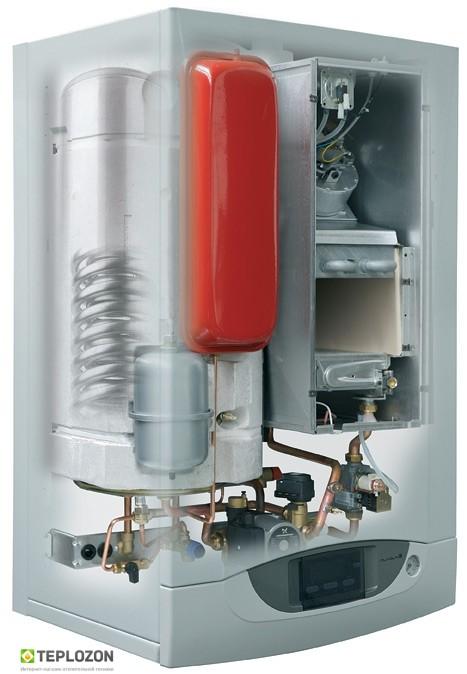 Baxi Nuvola 3 240 Fi BS40i настінний газовий котел ( з бойлером на 40 л) - 1