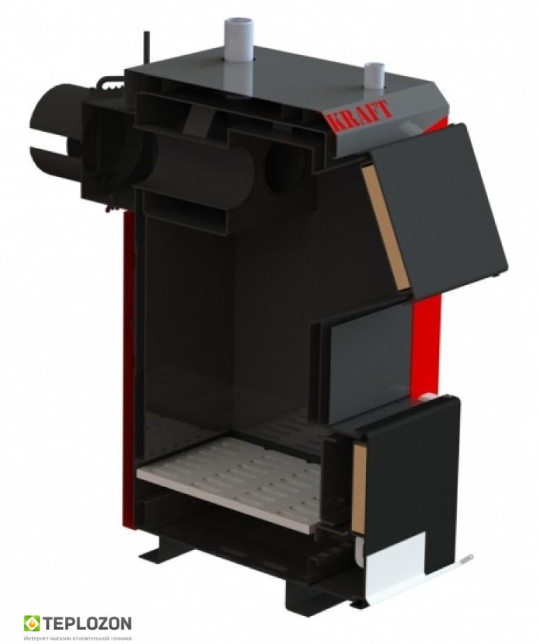 KRAFT A 12 KW твердотопливный котел (без автоматики) - 2