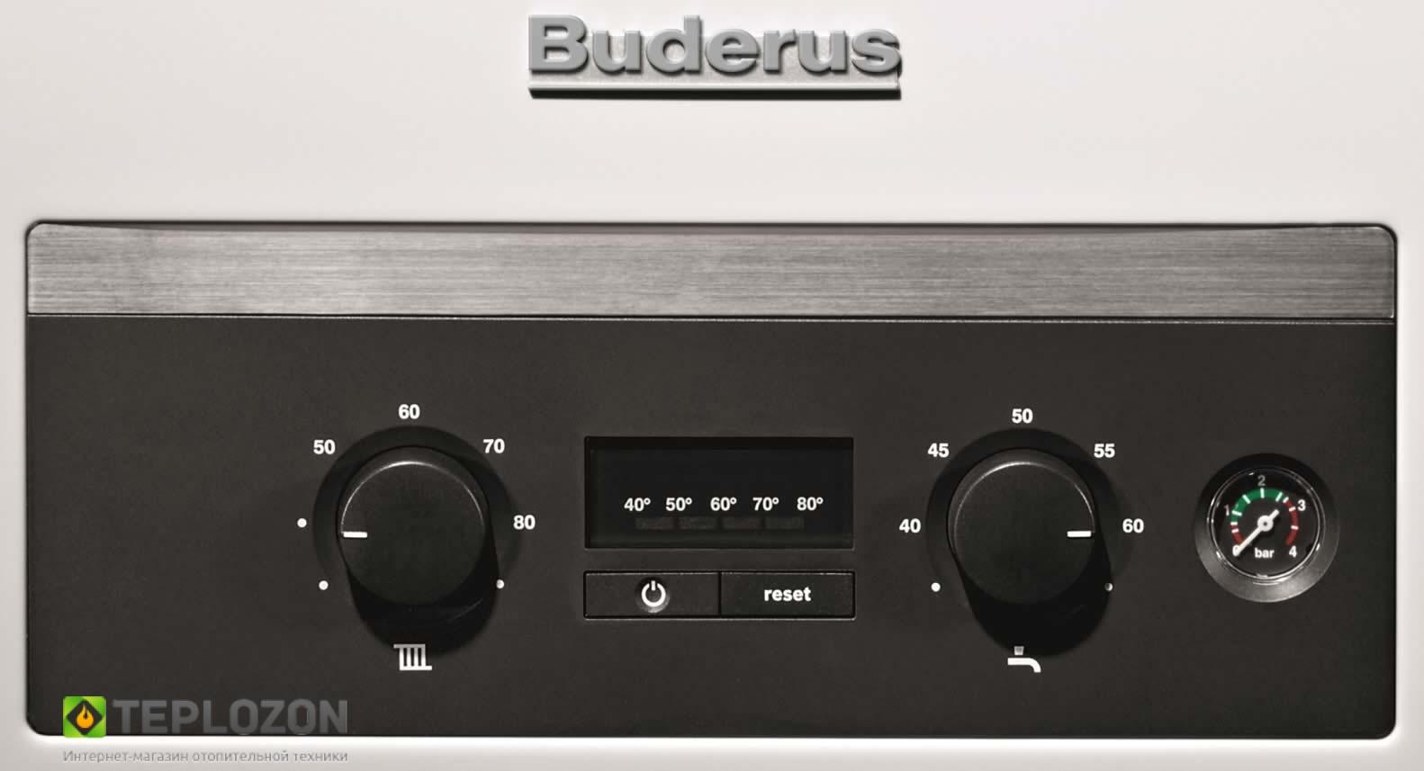 Buderus Logamax U044 24K настенный газовый котел - 1