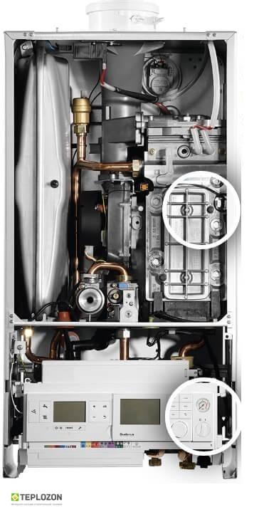 Buderus Logamax Plus GB172iW-42 (white) конденсационный котел - 2
