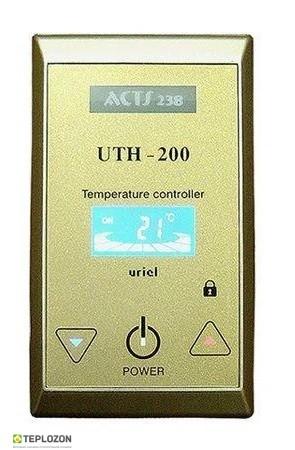 Терморегулятор UTH 200 White/Gold сенсорний - 1