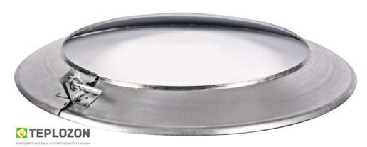 Лійка, Розета, Окапник, Дека ф.300. 0.5 мм. нерж. Вент-Устрій - 2