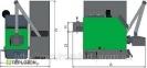 Moderator Sensor Bio 40 KW пеллетный котел - 1